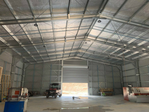 new rural shed internal