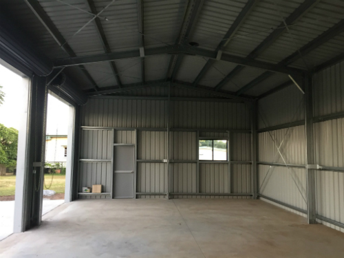 colorbond shed how much
